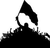 示威者 免版税库存照片