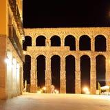 罗马古老的渡槽 免版税库存图片