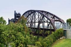 比尔・克林顿桥梁 免版税库存照片