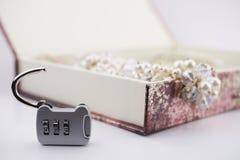 Κλειδαριά αριθμού Στοκ Φωτογραφίες