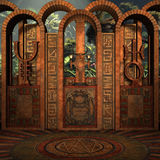 мистическое место Стоковое Изображение RF