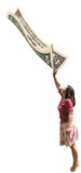 美元为时 免版税图库摄影