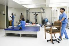 Медицинская клиника в Азии Стоковая Фотография RF