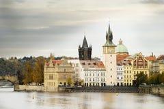 风景的布拉格 库存图片