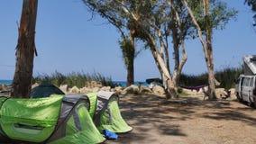 Место для стоянки от моря Стоковое Изображение