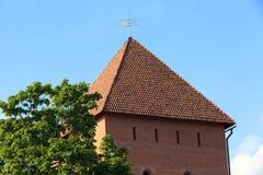 利达城堡,白俄罗斯 免版税库存照片