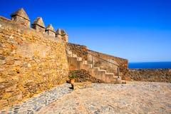 直布罗陀城堡南西班牙 免版税图库摄影