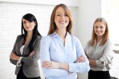 三名女实业家 免版税库存图片