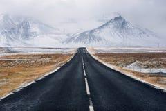 旅行路风景目的地的风景 免版税库存图片