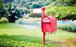 τρισδιάστατο απομονωμένο κιβώτιο αντικείμενο ταχυδρομείου Στοκ Εικόνα