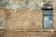голубое окно Стоковое Изображение RF