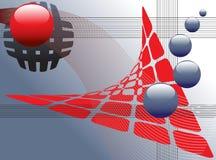 абстрактная сеть конструкции принципиальной схемы Стоковая Фотография RF