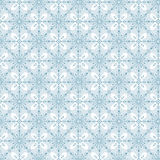 Безшовная картина предпосылки хлопьев снега зимы Стоковое Фото