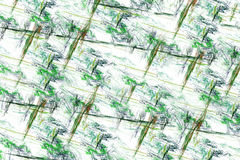 抽象多色线 免版税库存照片