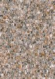 конспект помечает буквами газету Стоковые Фото