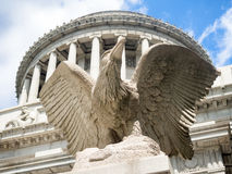 综合财政补贴全国纪念品在纽约 免版税库存照片