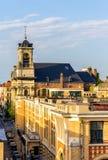 圣约翰和圣斯德望教会在布鲁塞尔 库存图片