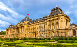 皇家布鲁塞尔的宫殿 库存图片