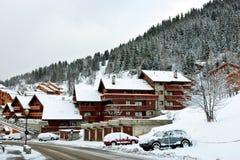 лыжа курорта Стоковая Фотография RF