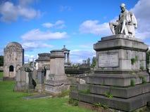格拉斯哥大墓地 免版税图库摄影