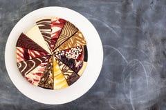 乳酪蛋糕的选择 免版税库存图片