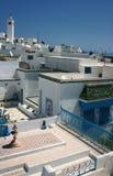 横向都市的突尼斯 库存照片