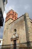 坎德拉里亚角的教会的塔 免版税库存图片