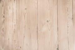 与结的布朗老木纹理 免版税库存照片