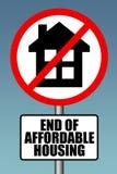 价格合理的住房 免版税库存图片