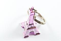 艾菲尔铁塔-钥匙链 库存照片