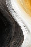 颜色曲线油绘了三 库存照片