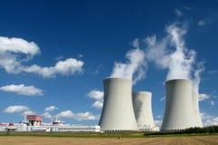 ισχύς πυρηνικών εγκαταστάσεων Στοκ Φωτογραφίες