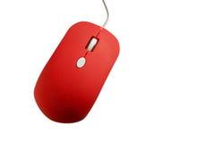 红色计算机老鼠 库存照片