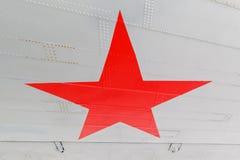 担任主角,俄语空军队的标志航空器的 库存图片