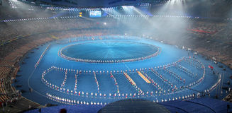 национальный стадион Стоковые Изображения RF