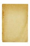 坏的老纸部分 免版税库存图片