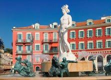 法国好的老城镇 库存图片