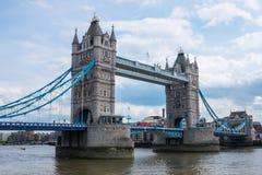 小船桥老伦敦 免版税库存图片