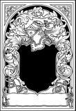 武装骑士 免版税库存图片