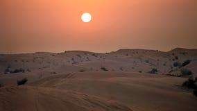 Дубай Управлять пустыни Стоковое Изображение RF