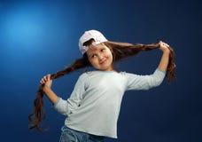 смешная девушка Стоковое Изображение RF