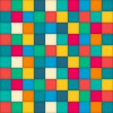 五颜六色的检查背景 免版税图库摄影