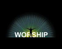 поклонение Стоковая Фотография RF
