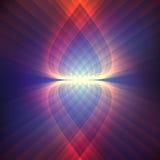 Космическая сияющая предпосылка Стоковые Изображения RF