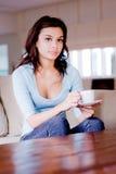 чай после полудня Стоковые Изображения