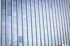 Παράθυρα φραγμών πύργων επιχειρησιακών γραφείων ουρανοξυστών Στοκ Φωτογραφίες