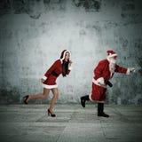 克劳斯・圣诞老人 免版税库存照片