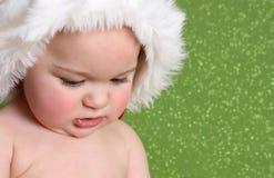 婴孩圣诞节 库存图片