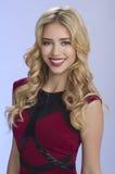 Красивейшая блондинка Стоковые Изображения RF
