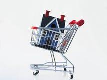 家庭购物 免版税库存照片